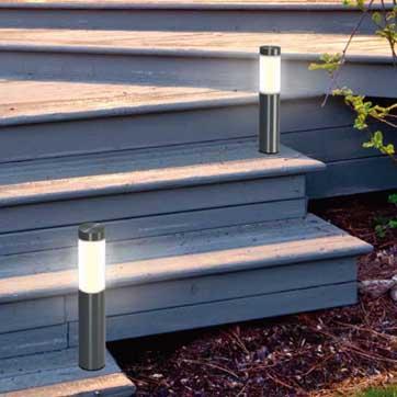 Solar Bollard Outdoor Light