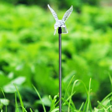 Solar Hummingbird Stick Light
